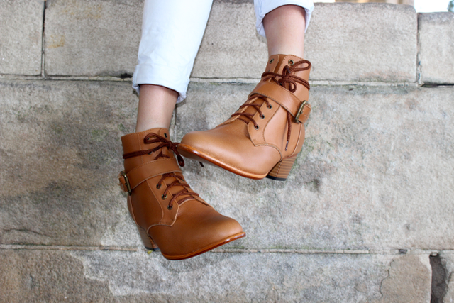 WOODSTOCK BOOT - TAN : RESTOCKED