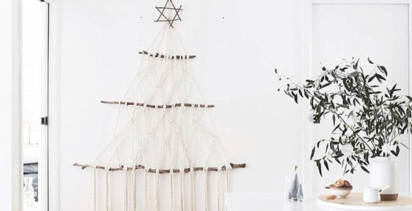 Macrame Christmas Tree | A Handmade Take on the Annual Tradition
