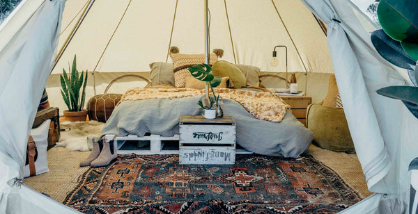 The Seek Society Collaboration | How to Style Your Tent