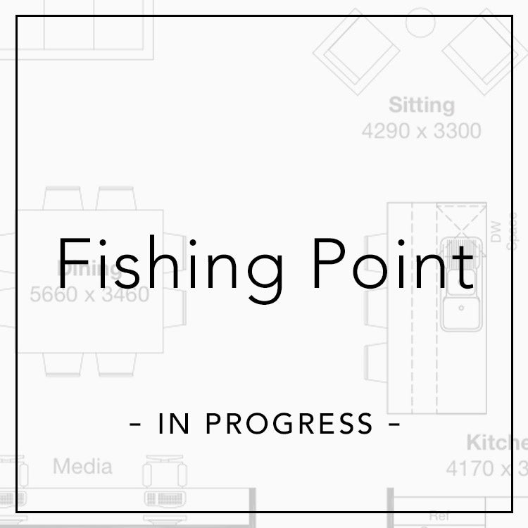 fishing point in progress