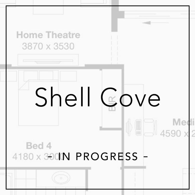 shell cove in progress