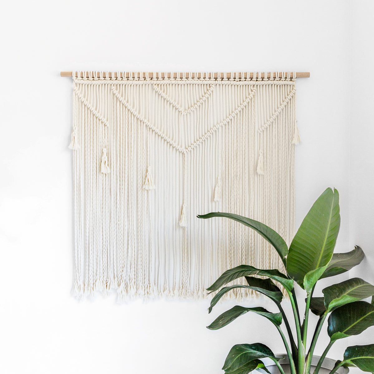 HANDMADE WALL HANGING - LARGE