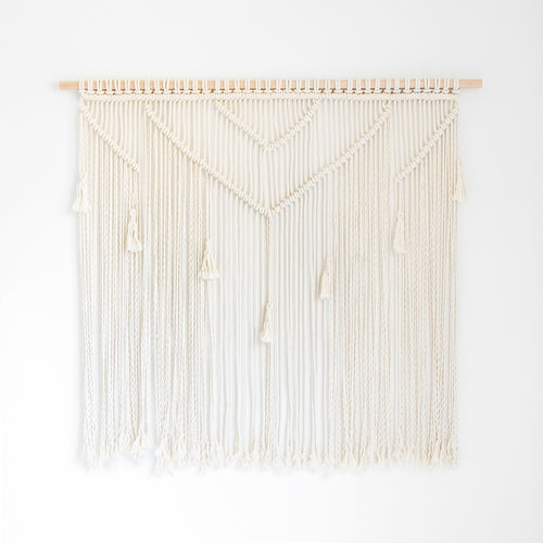 MACRAME WALL HANGING - LARGE