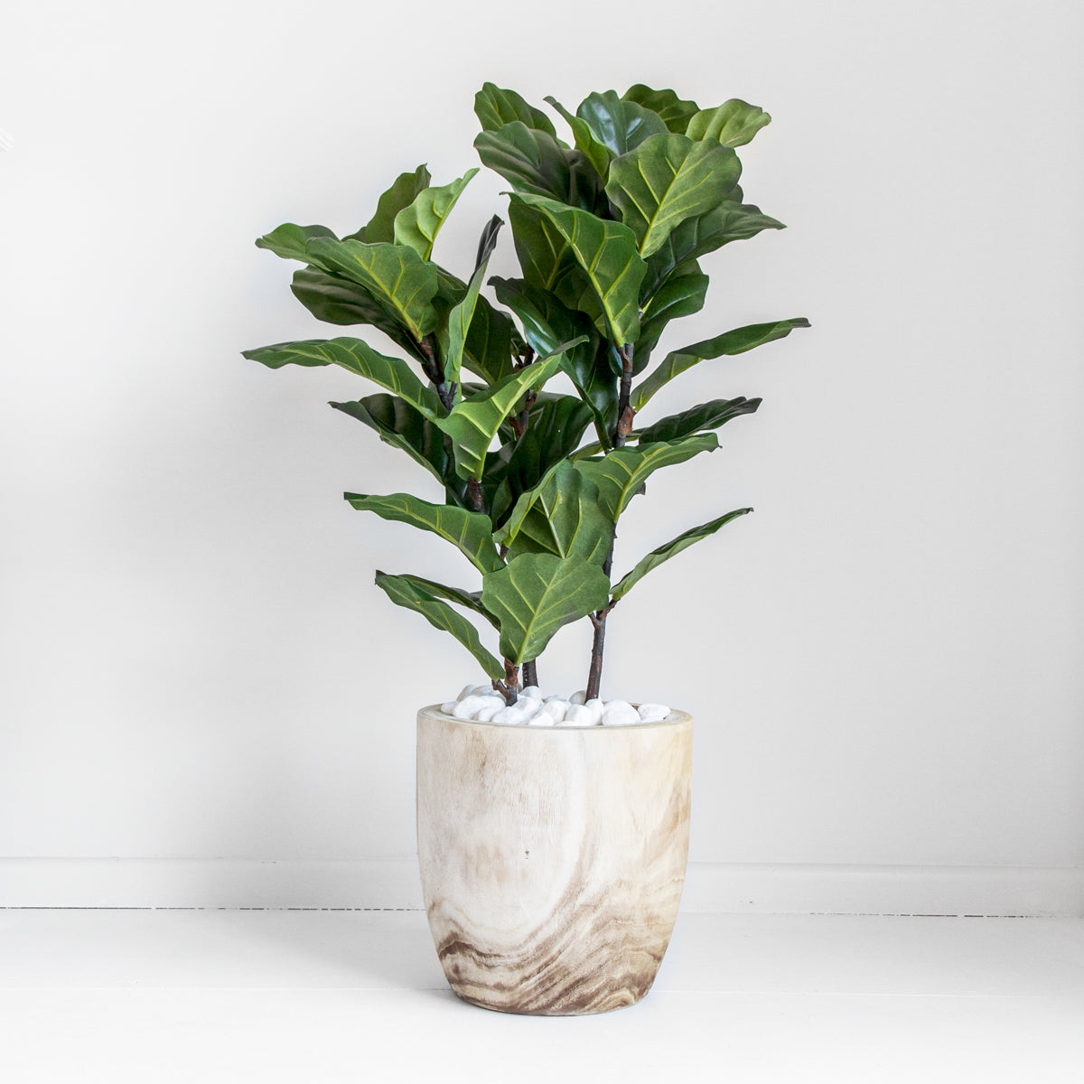 RAW TIMBER POT - LARGE