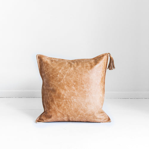 STEVIE LEATHER CUSHION