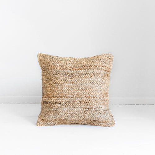 JUTE PLAIT CUSHION