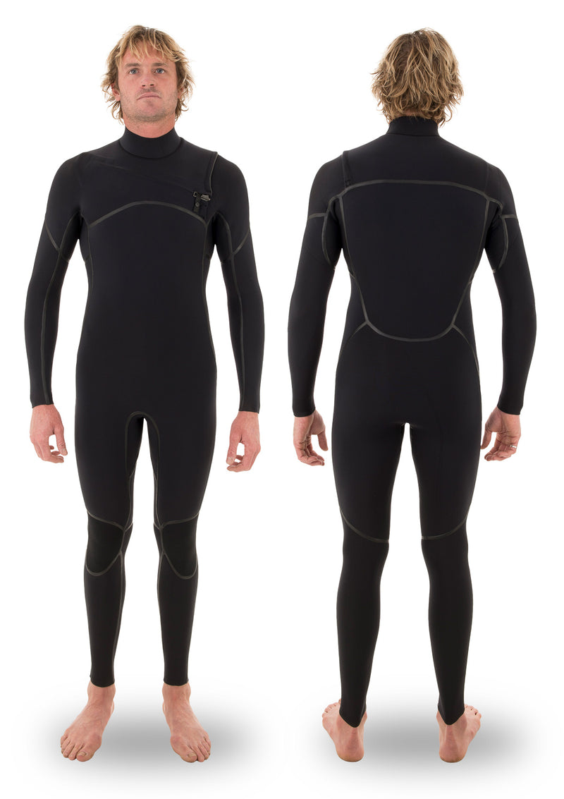 3/2 Liquid Taped Thermal Chest Zip Wetsuit