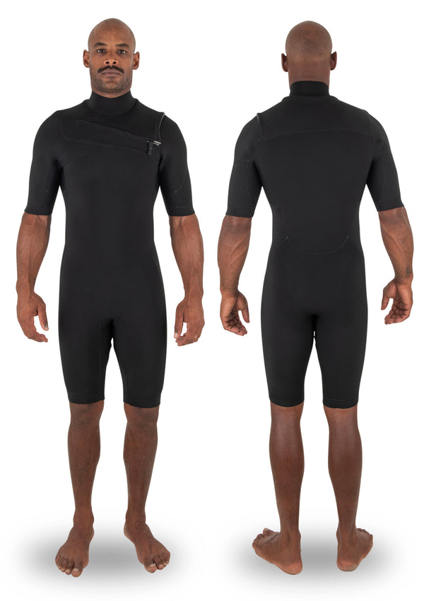 needessentials 2mm Chest Zip Spring Spring summer wetsuit surfing non branded