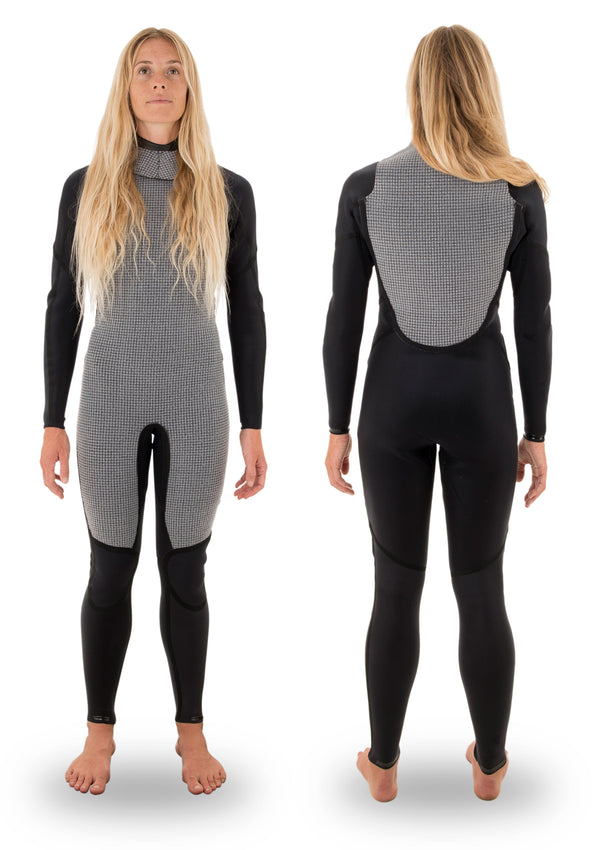 Womens 3/2 Thermal Back Zip Wetsuit