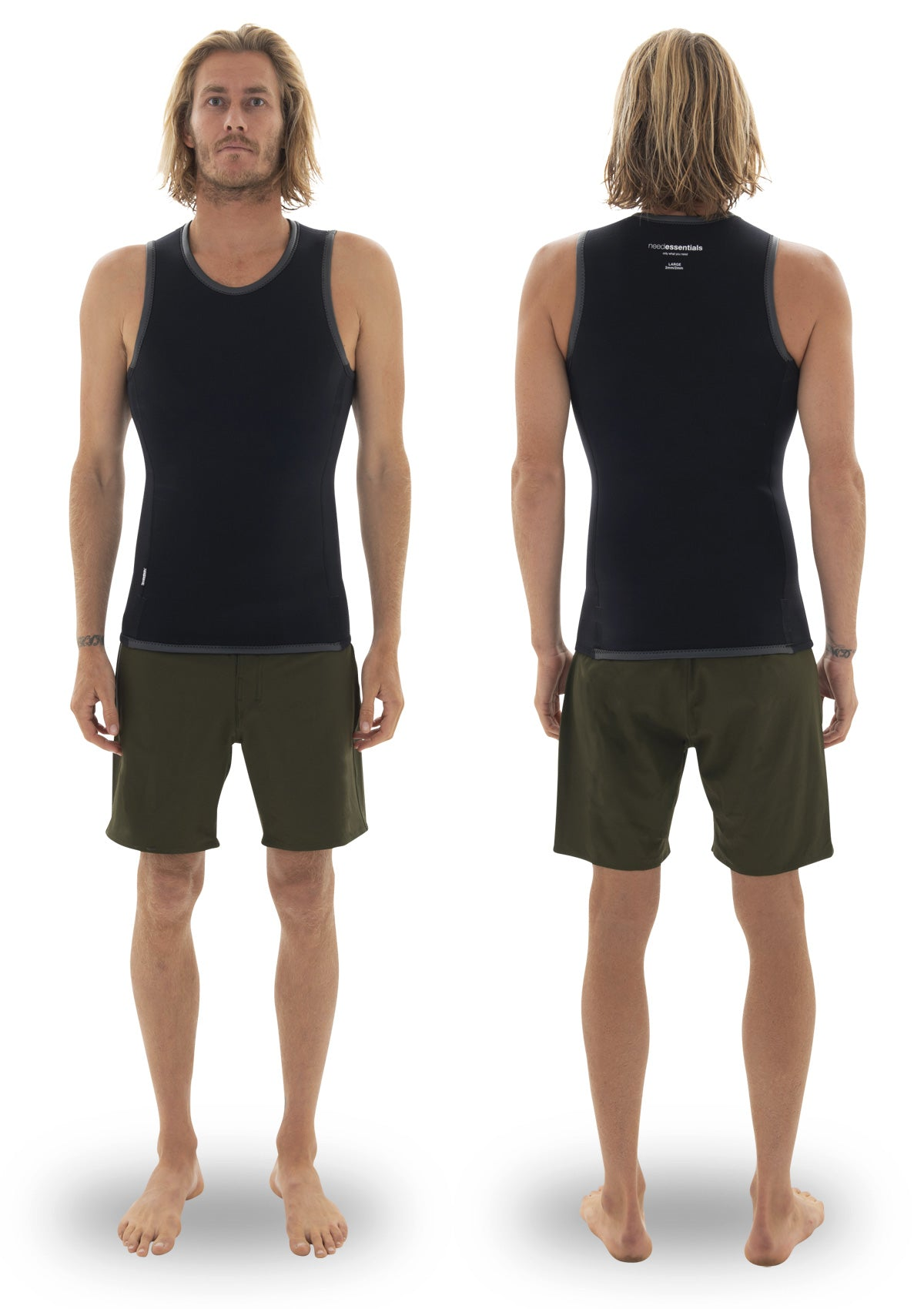 2mm Smooth Skin Vest