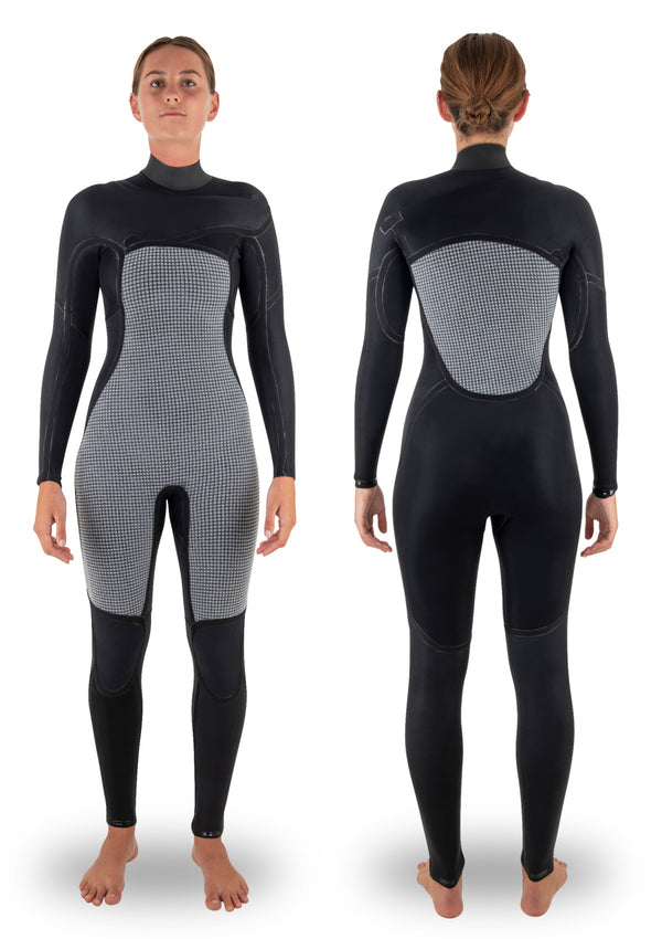 Womens 3/2 Thermal Chest Zip Wetsuit
