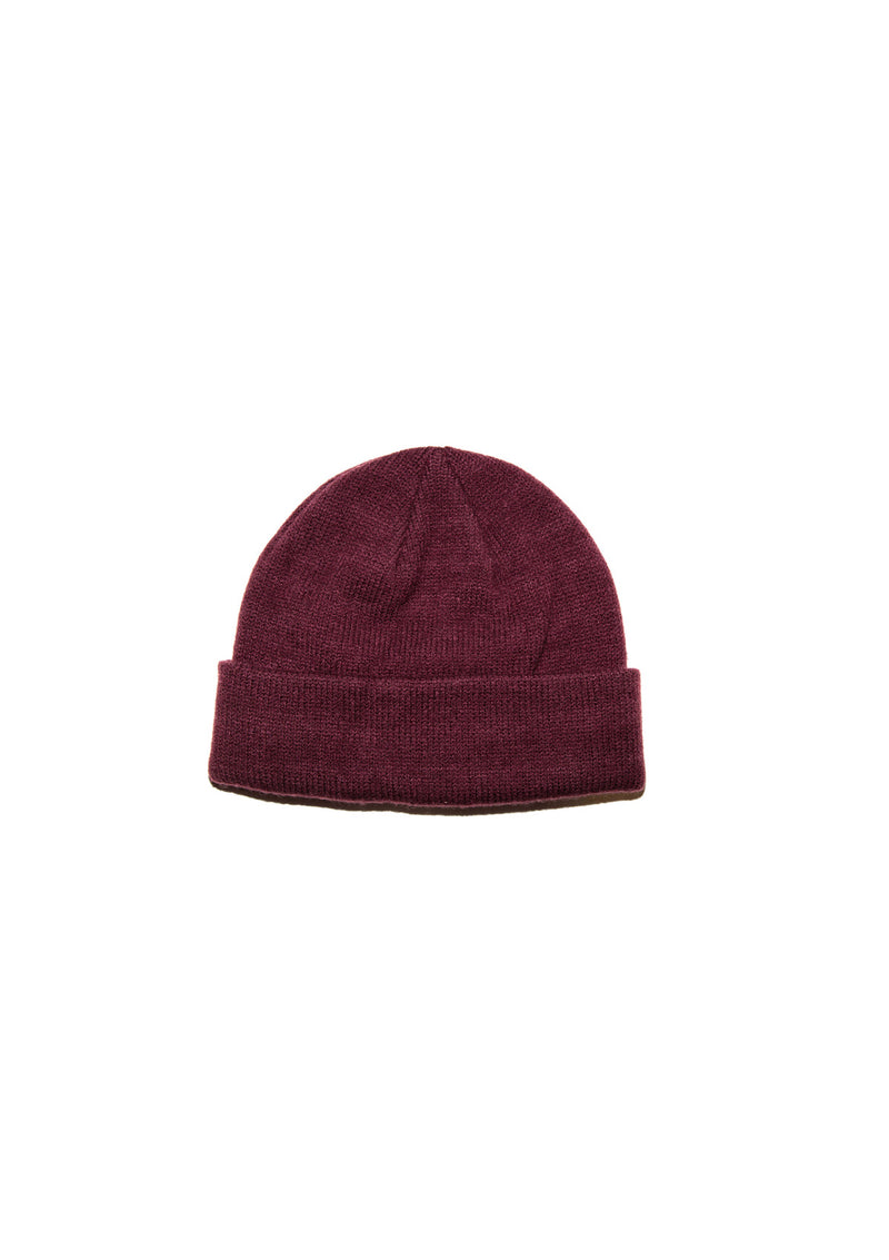 needessentials seedMob beanie wine