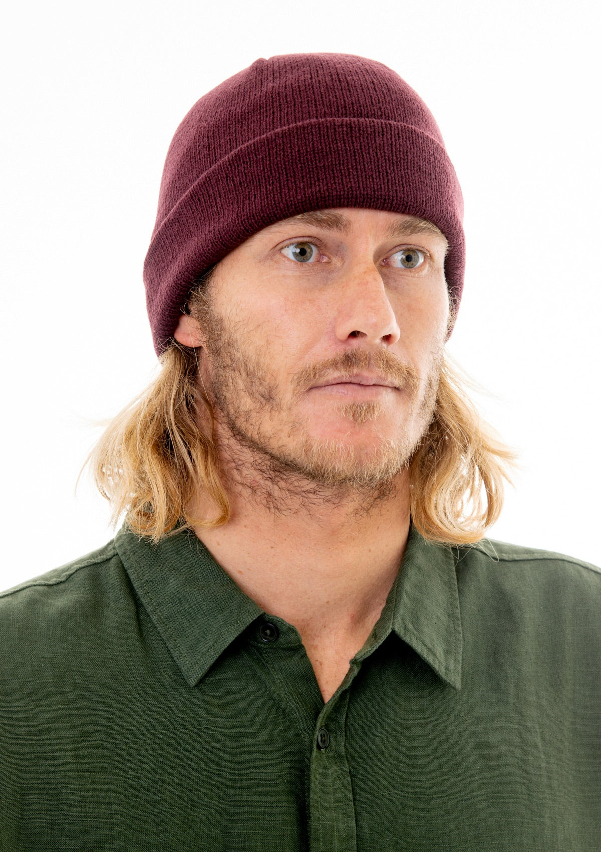 SeedMob Not-For-Profit Beanie - Wine
