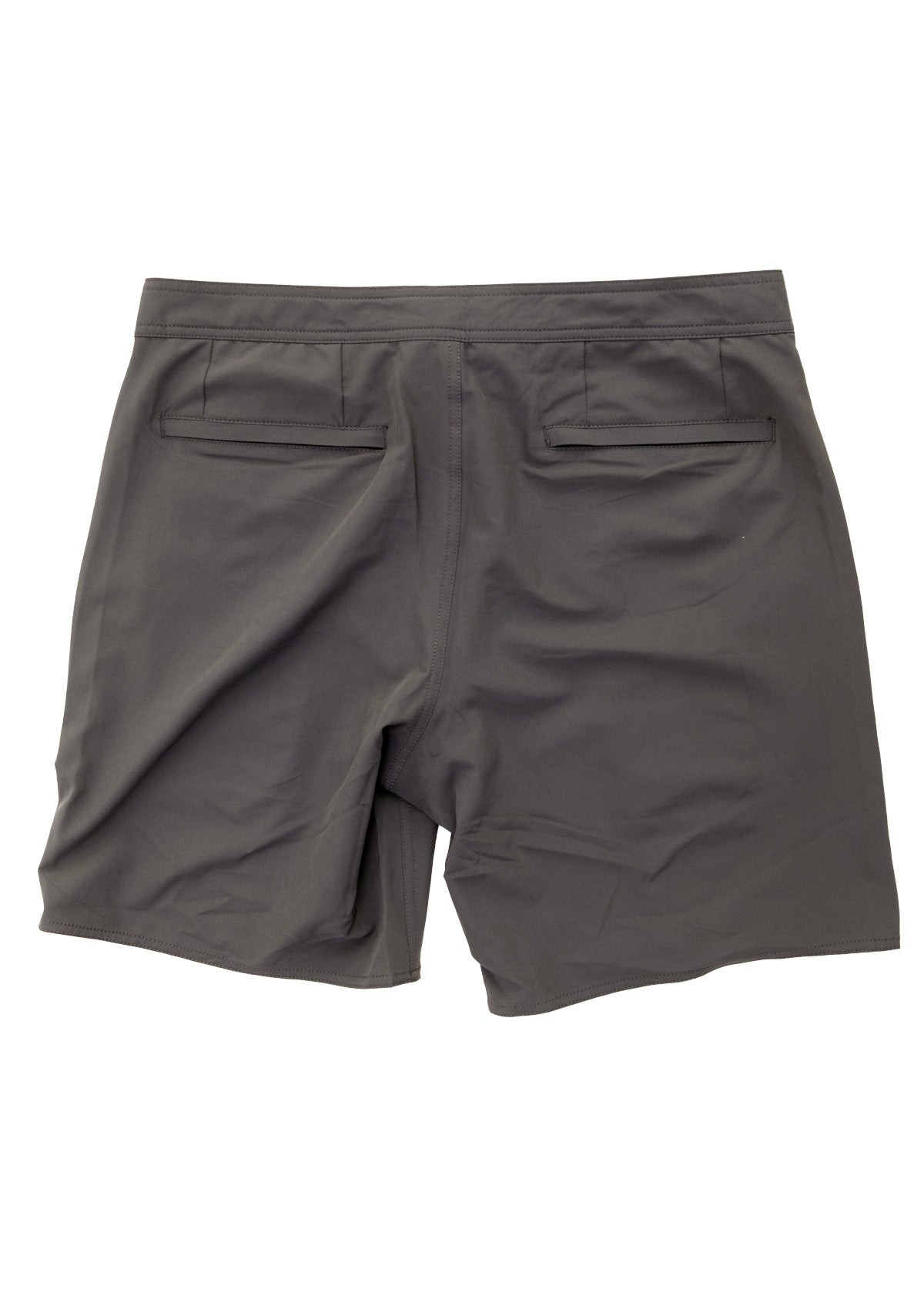 needessentials all-rounder mens surfing boardshorts non branded dark grey swimming