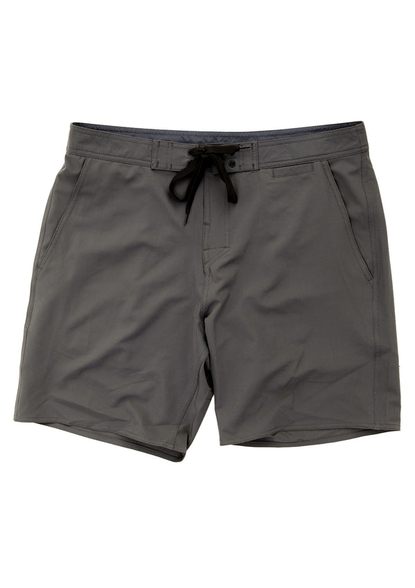 needessentials all-rounder mens surfing boardshorts non branded dark grey
