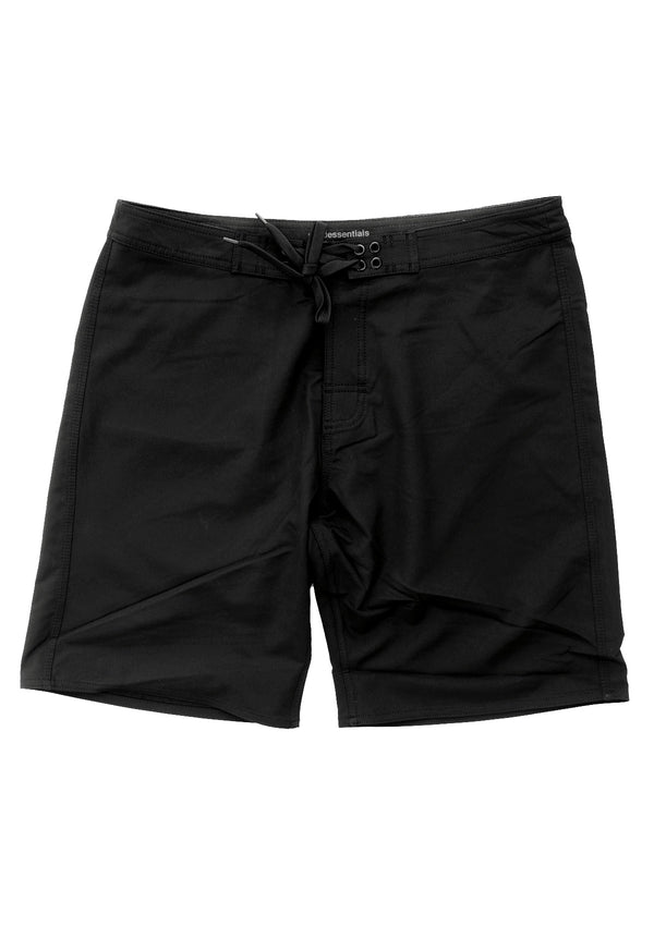 "needessentials 20"" mens surfing boardshorts non branded black"