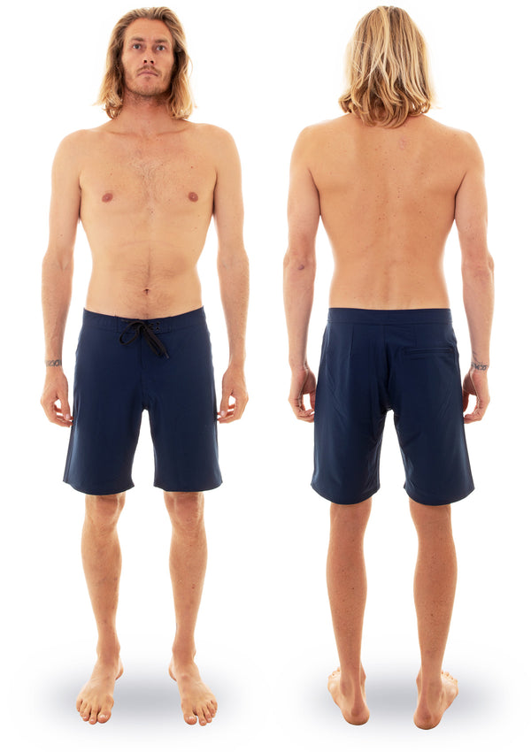 "needessentials 20"" mens surfing boardshorts non branded navy torren martyn"