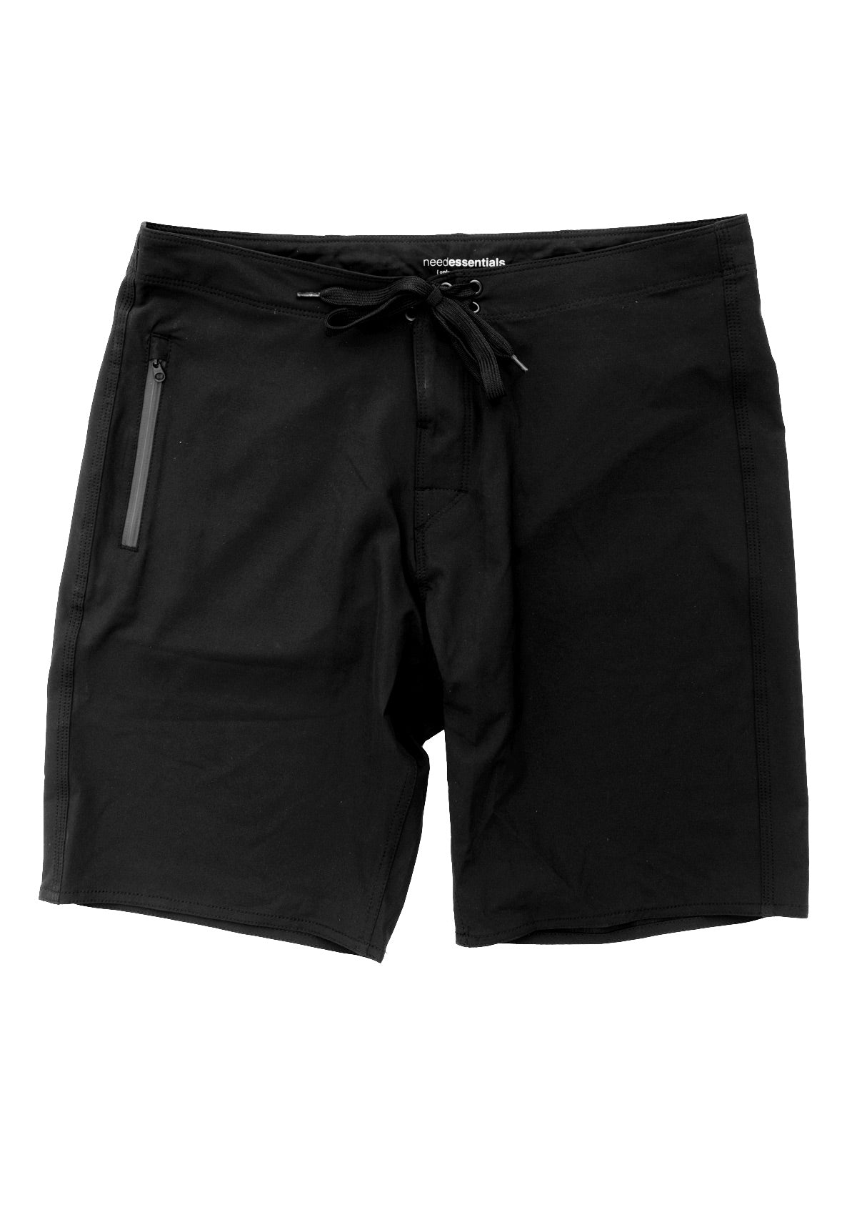 needessentials light weight mens surfing boardshorts non branded black
