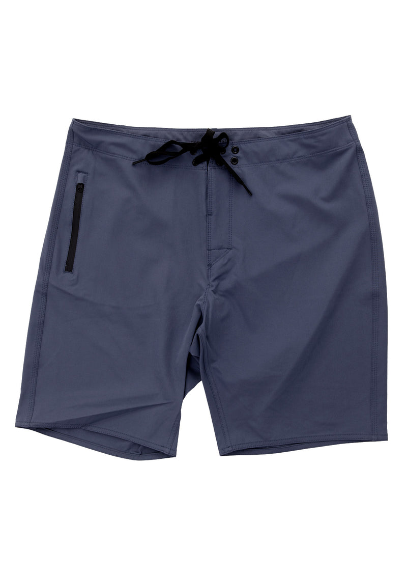 needessentials light weight boardshort blue