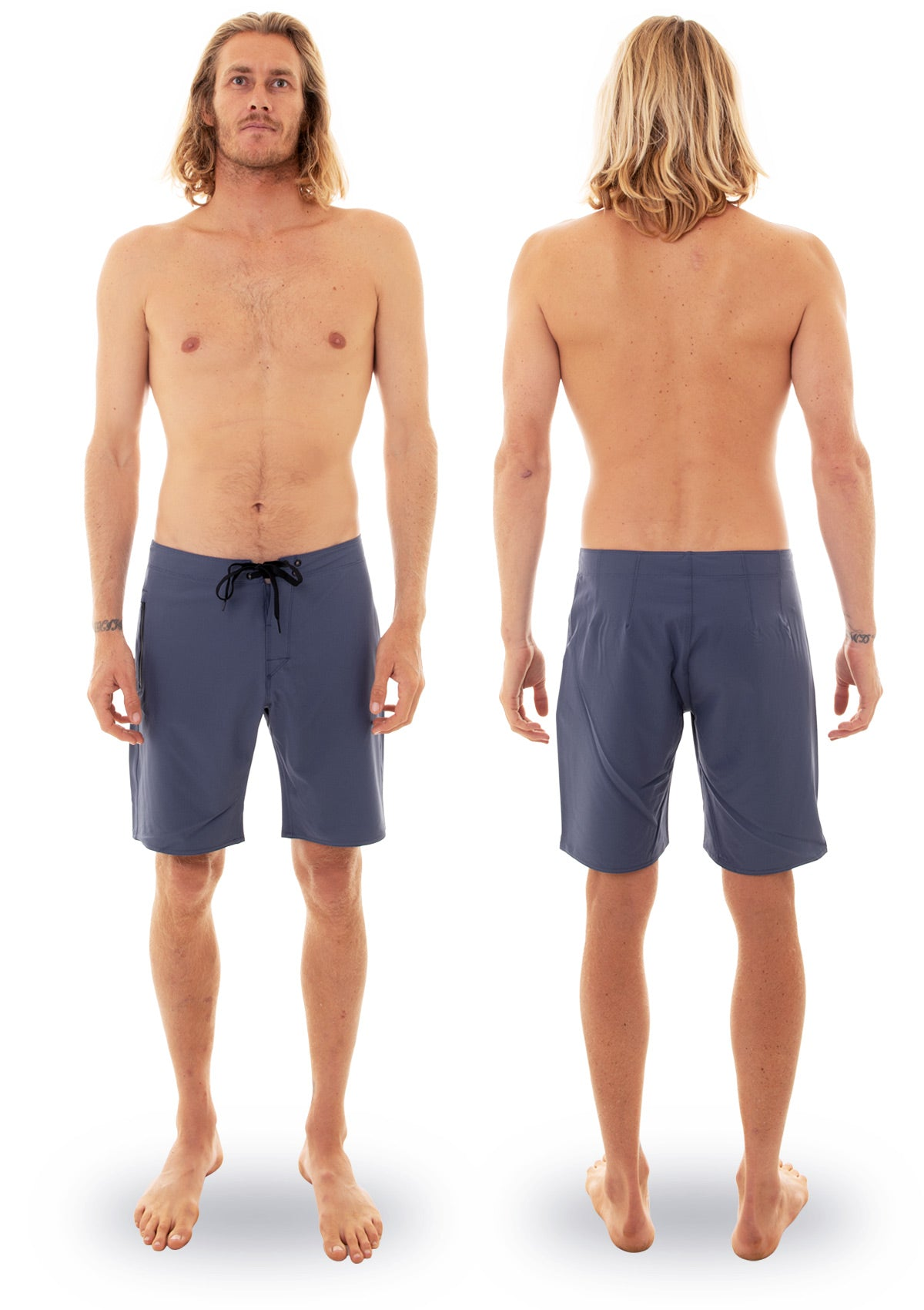 needessentials light weight boardshort blue torren martyn
