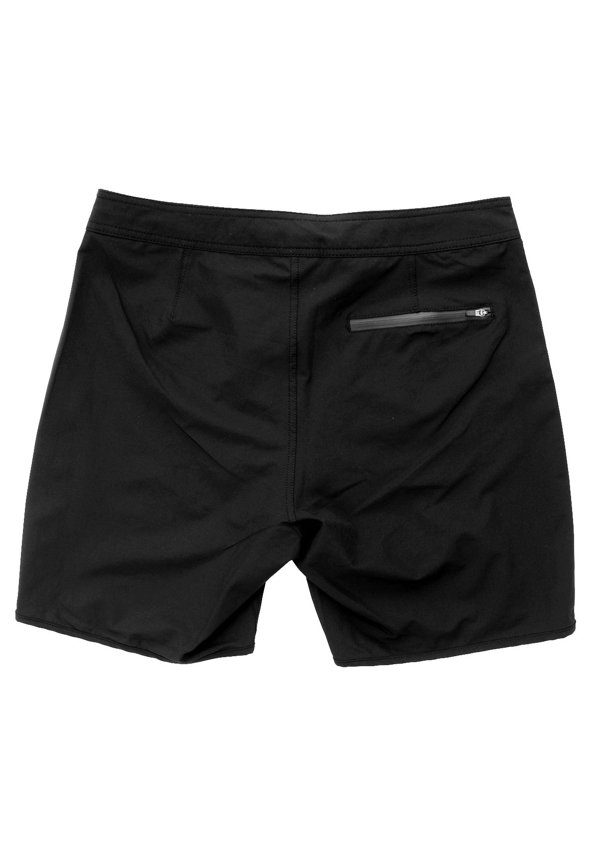 needessentials scallop mens surfing boardshorts non branded black swimming