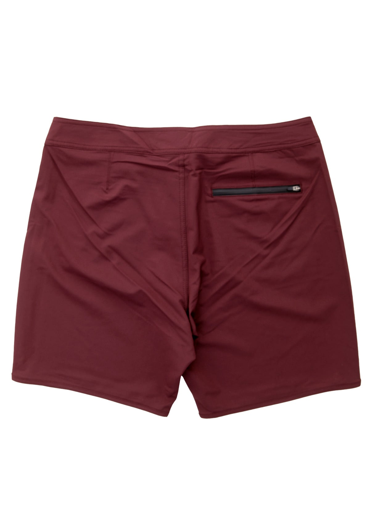 needessentials scallop mens surfing boardshorts non branded burgundy swimming