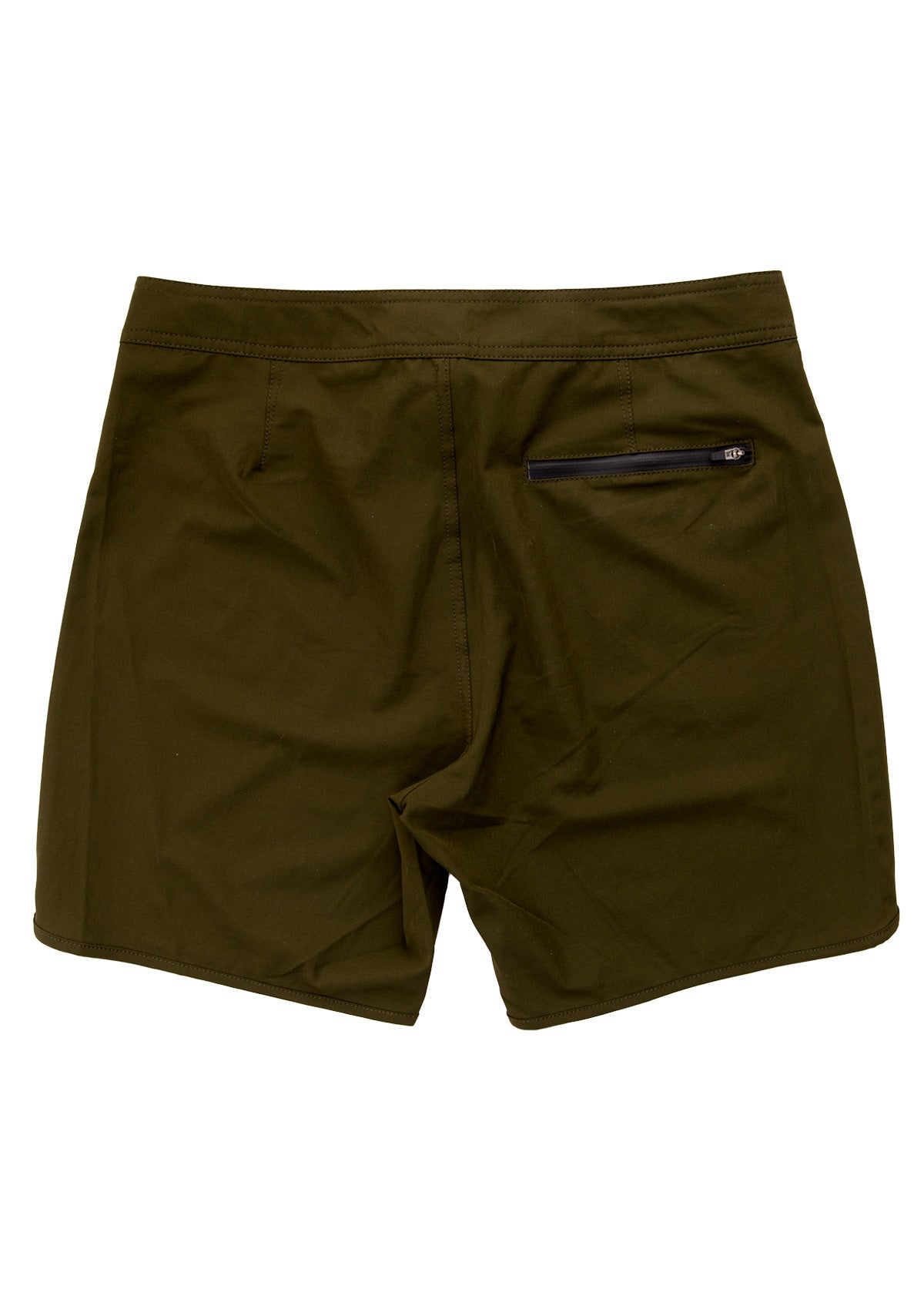 needessentials scallop mens surfing boardshorts non branded olive swimming