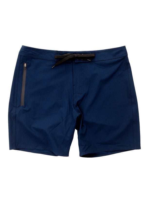 needessentials side mens surfing boardshorts non branded navy