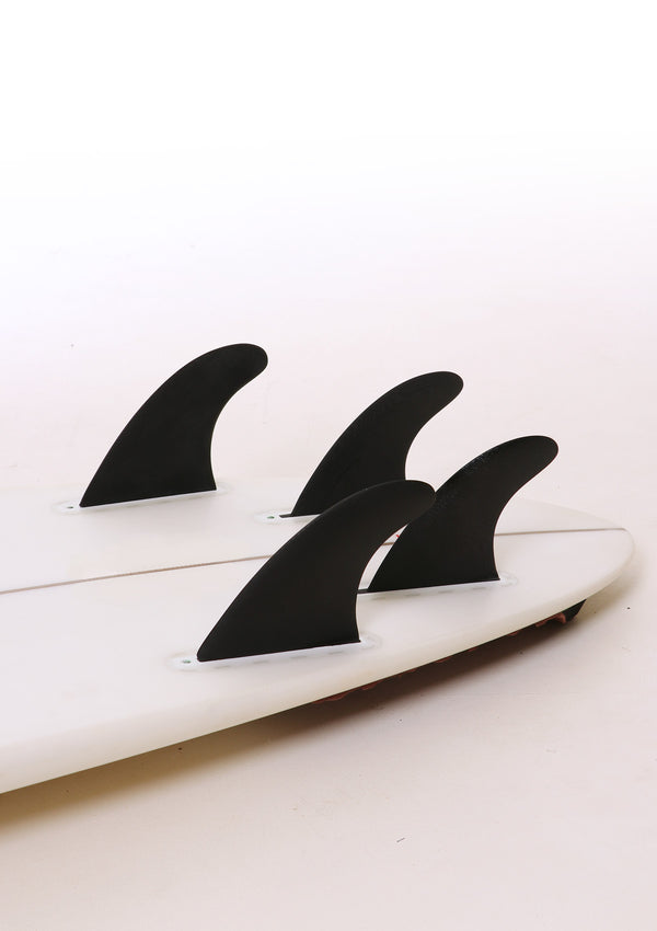 Hand Foiled Quad Rear Fins