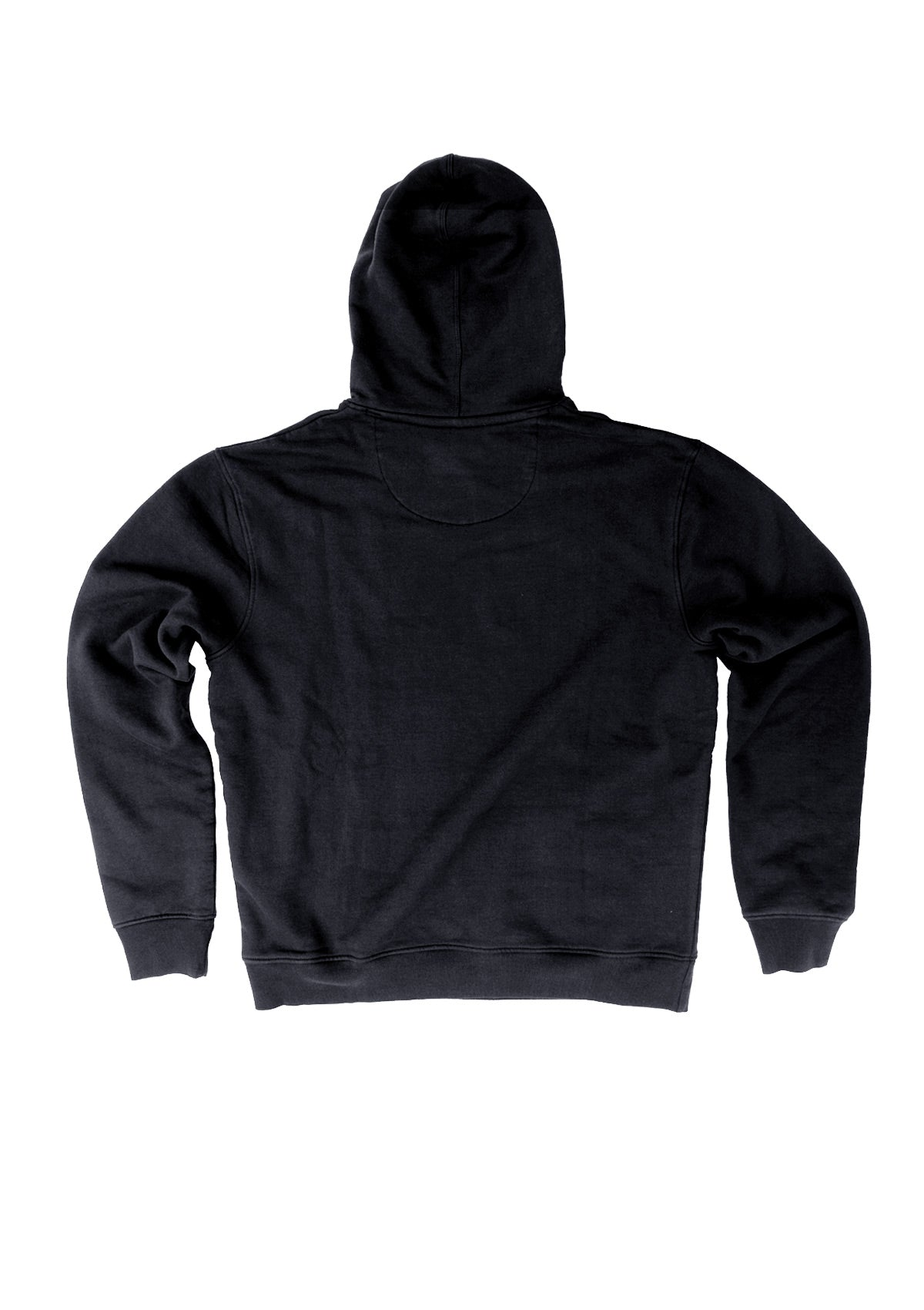 needessentials organic cotton hoodie jumper plain black