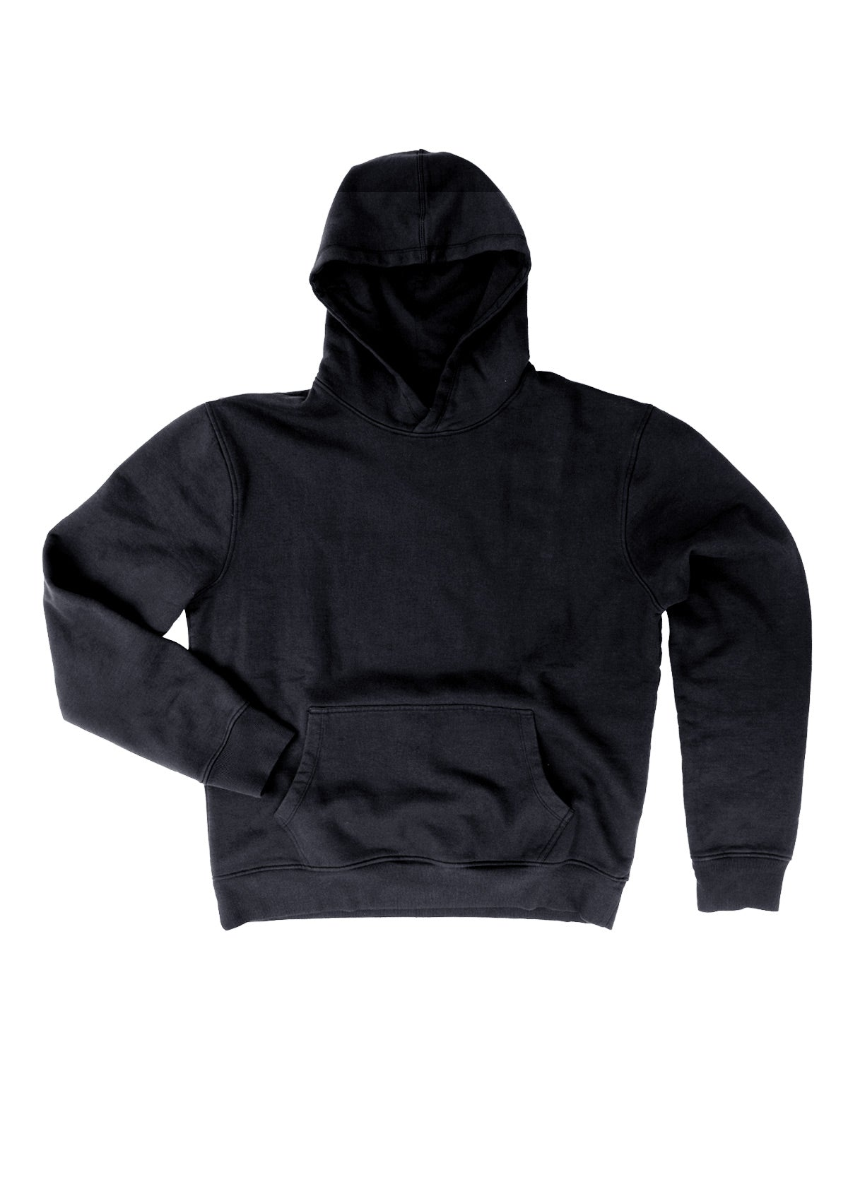 needessentials organic cotton hoodie jumper black