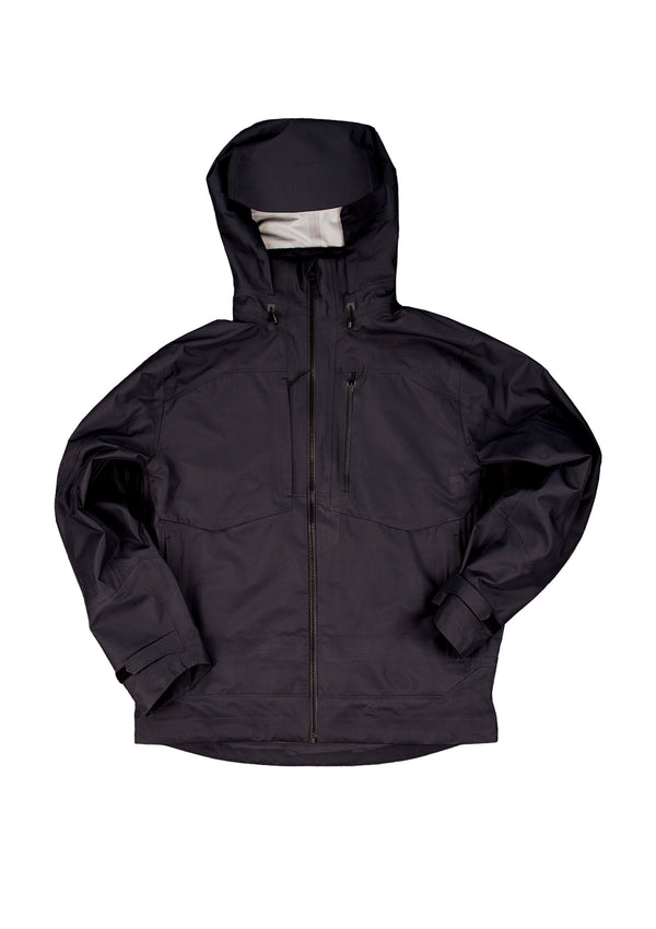 Hard Shell Jacket-Black