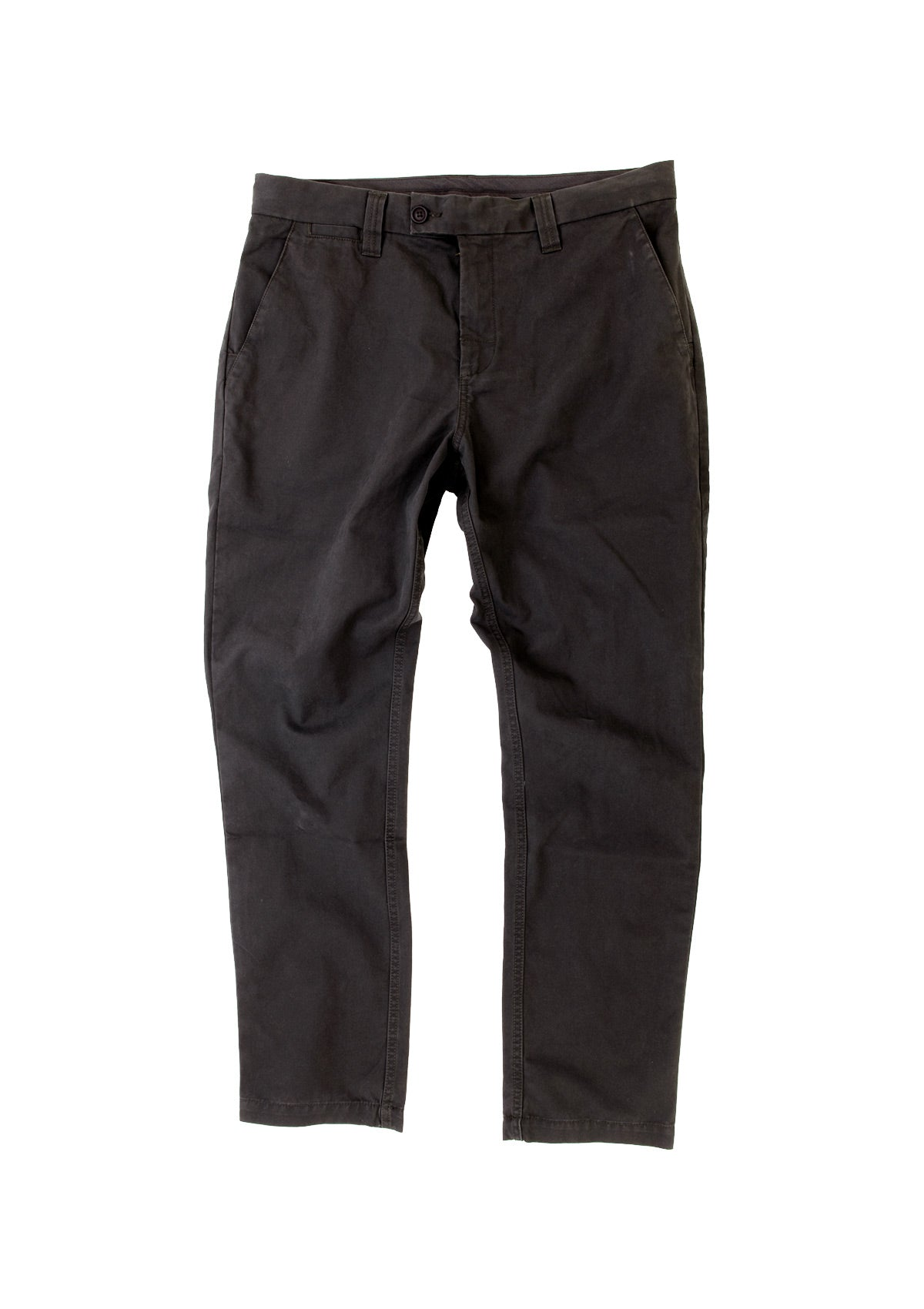needessentials organic cotton pant black chino