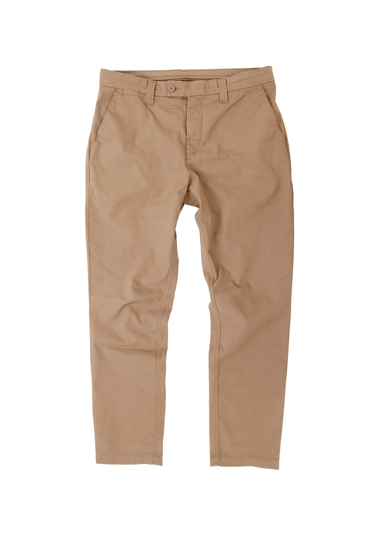 needessentials organic cotton pant tan chino