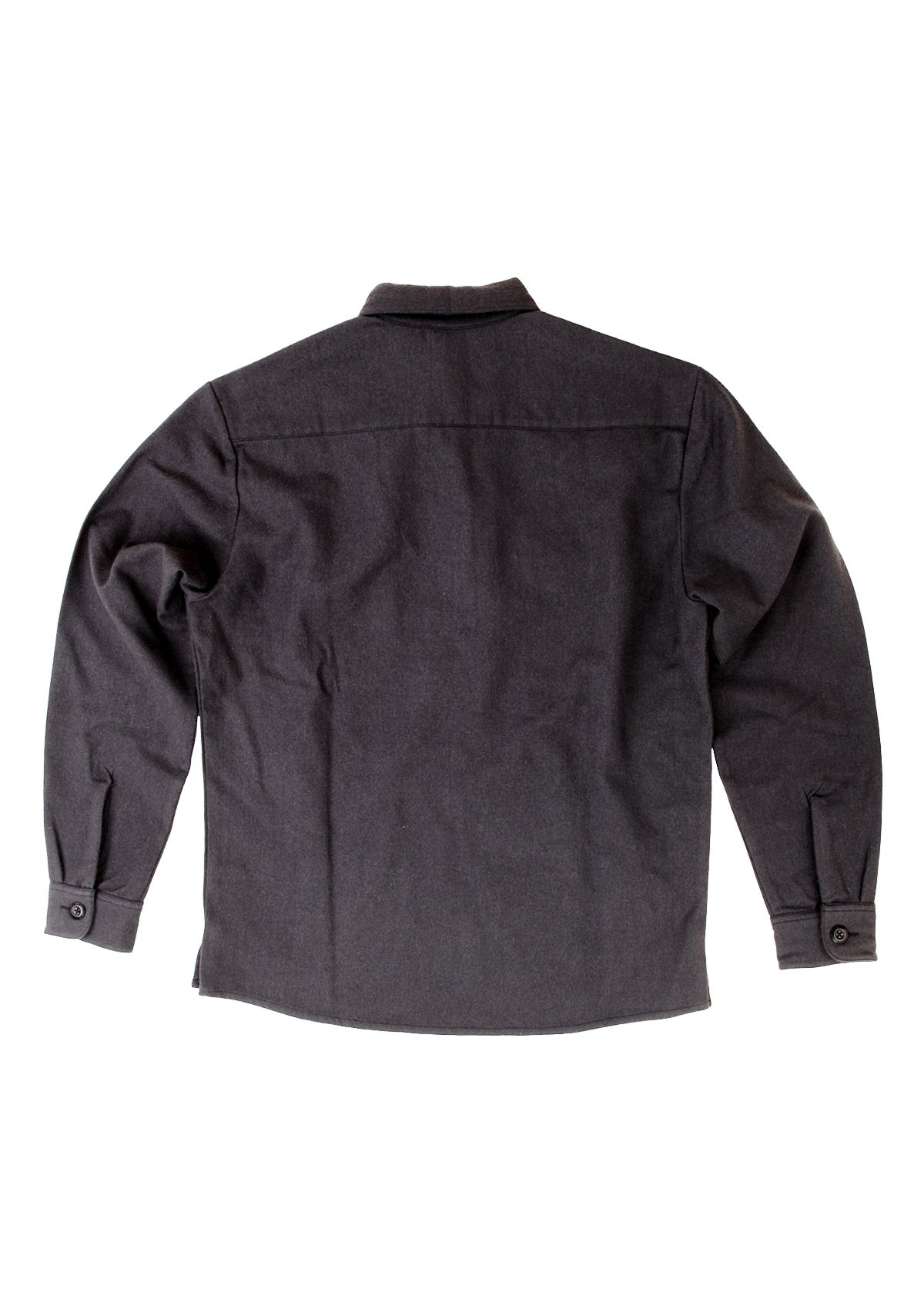needessentials wool insulator pullover shirt black travel