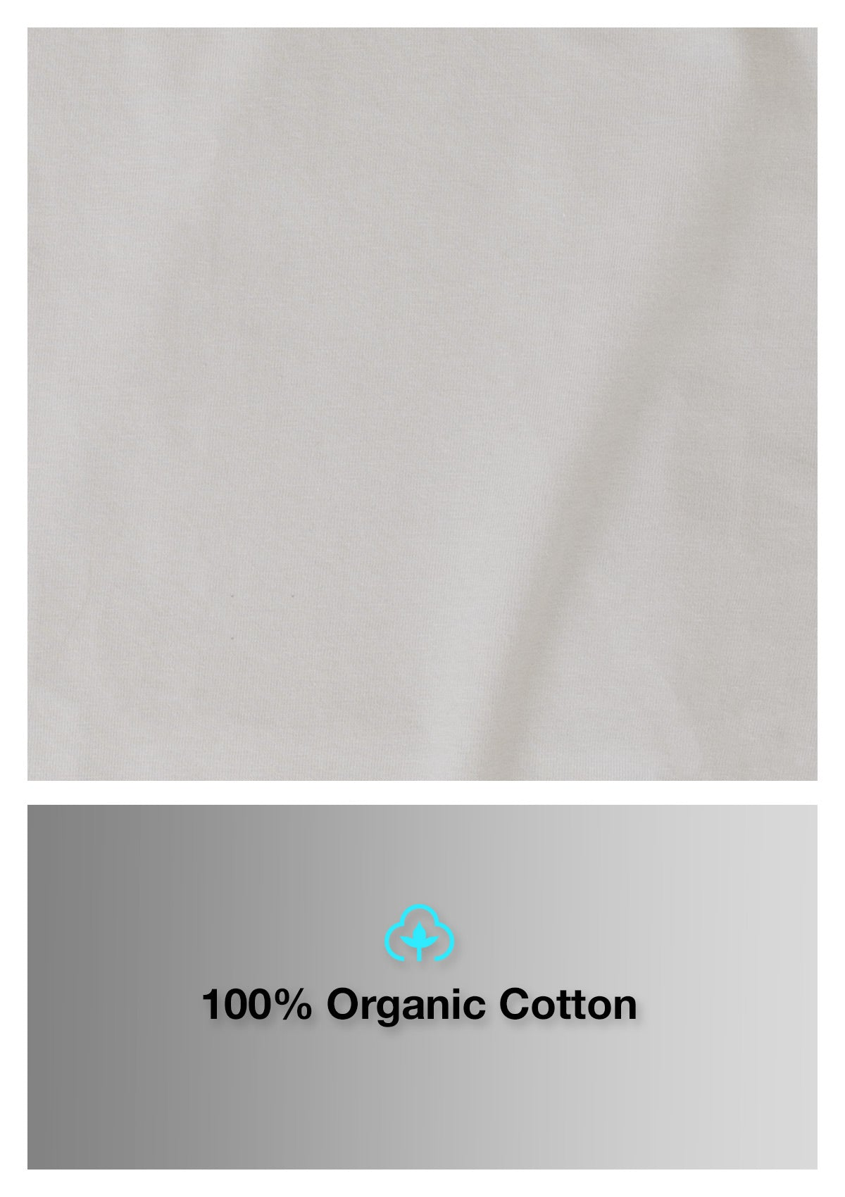 Organic Cotton T-shirt - Whitewater