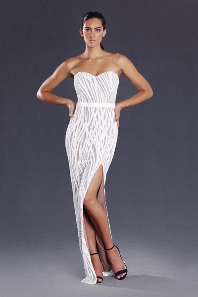 JADORE Elyse Gown JX088 (White)