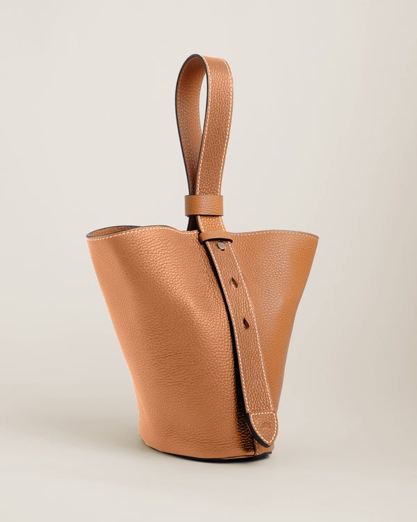 Sid Bucket Bag  | Caramel