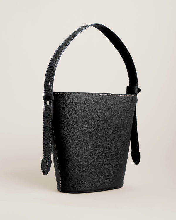 Sid Bucket Bag | Black