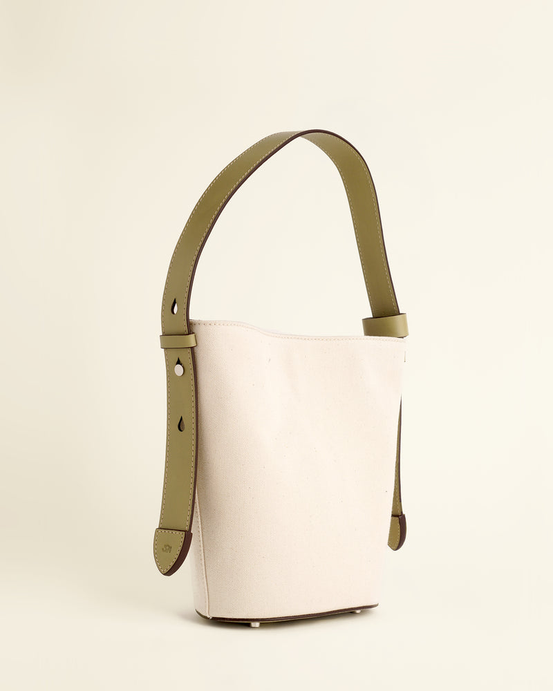 Sid Bucket Bag  | Canvas & Sage