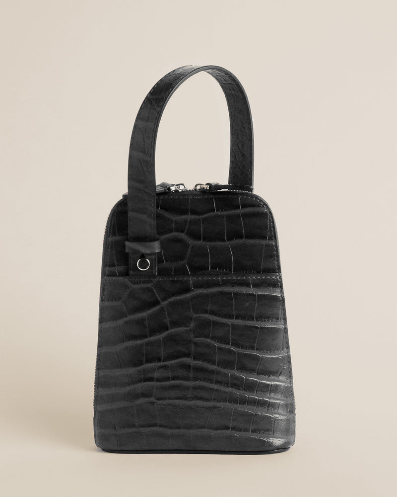 Ziggy | Black Croc