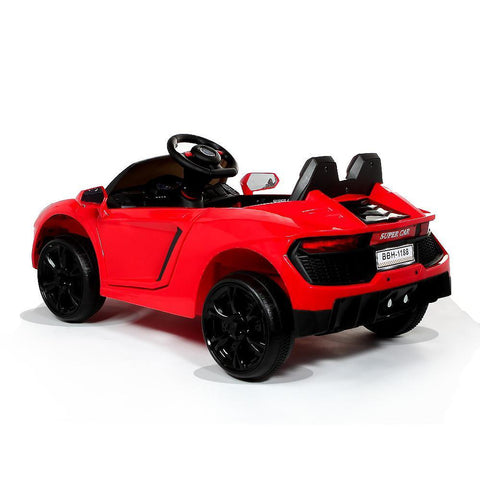 12V Red Lamborghini Aventador Style Battery Ride On Car 2