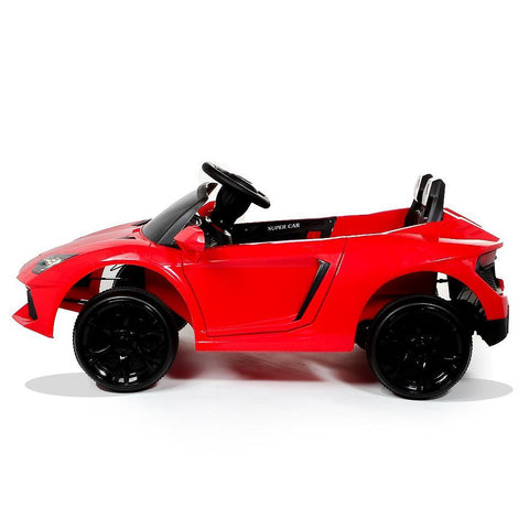 12V Red Lamborghini Aventador Style Battery Ride On Car 3