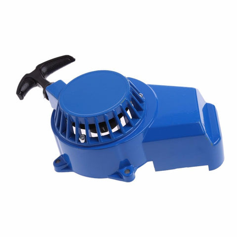 Blue Metal Pull Start For Mini Moto / Mini Dirt / Mini Quad Bike