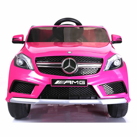 Licensed Mercedes A45 12v Ride on Electric Car with Remote - Pink 2