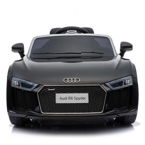 Licensed 12V Black Audi R8 Spyder Kids Battery Ride On Car 3