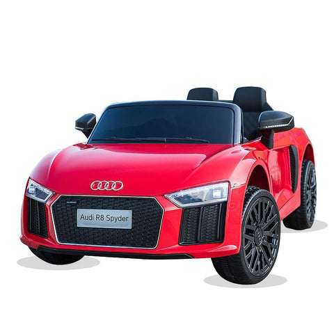 Licensed 12V Red Audi R8 Spyder Kids Battery Ride On Car