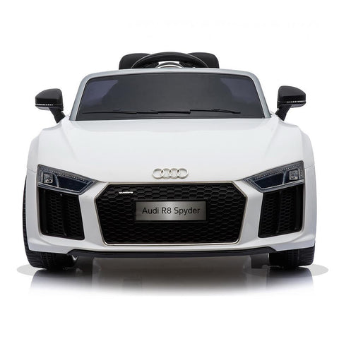 Licensed 12V White Audi R8 Spyder Kids Battery Ride On Car 3