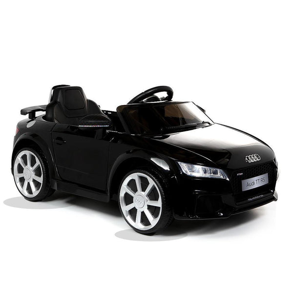 Licensed Audi TT RS 12V Battery Ride On Car - Black