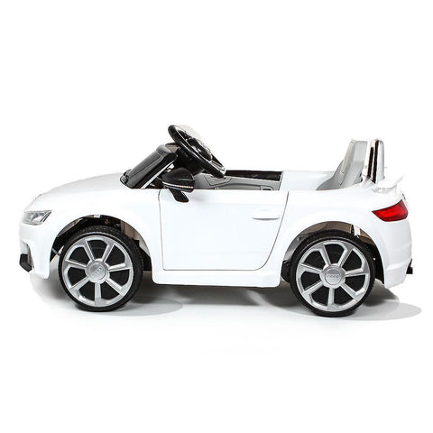 Licensed Audi TT RS 12V Battery Ride On Car - White 3